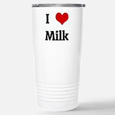 I Love Milk Travel Mug