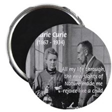 """Marie Curie Physics Liberty 2.25"""" Magnet (100 pack"""