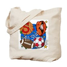 Sports 5th Birthday Tote Bag