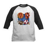 7th birthday sports Baseball Jersey