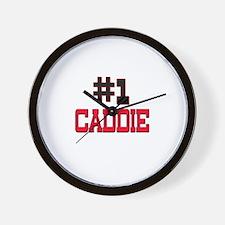 Number 1 CADDIE Wall Clock