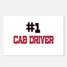 Number 1 CAB DRIVER Postcards (Package of 8)