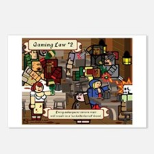 Gaming Law #2 Postcards (Package of 8)