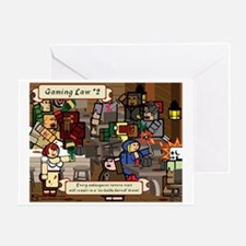 Gaming Law #2 Greeting Card