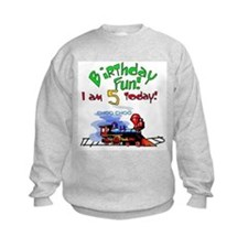 Train 5th Birthday Sweatshirt