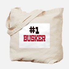 Number 1 BUSKER Tote Bag