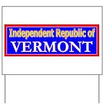 Vermont-2 Yard Sign