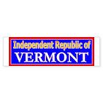 Vermont-2 Bumper Sticker