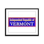 Vermont-2 Framed Panel Print