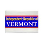 Vermont-2 Rectangle Magnet