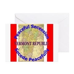 Vermont-1 Greeting Cards (Pk of 20)