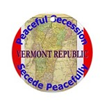 Vermont-1 Ornament (Round)
