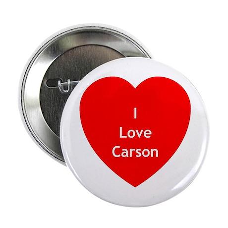"""SGA Love Carson 2.25"""" Button"""
