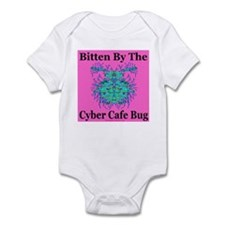Cyber Cafe Bug Infant Creeper