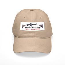 Warning - Armed Infidel Baseball Cap