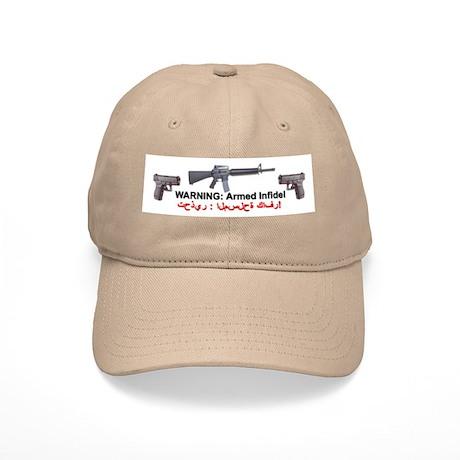 Warning - Armed Infidel Cap