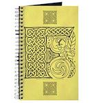 Celtic Letter F Journal
