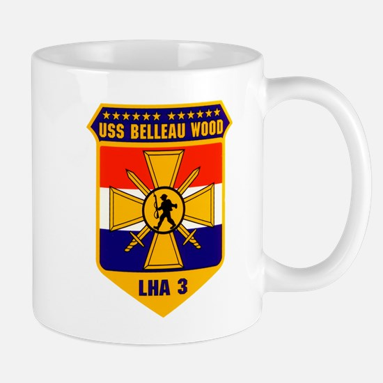 USS Belleau Wood LHA 3 US Navy Mug