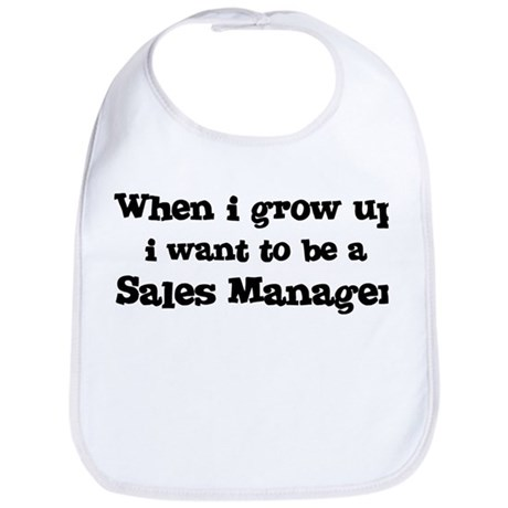 Be A Sales Manager Bib