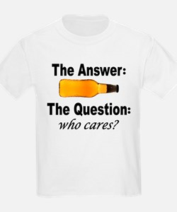 Beer: The Answer T-Shirt
