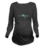 Funny scuba diving Dark Long Sleeve Maternity T-Shirt