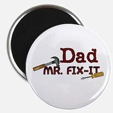 Mr. Fix It Dad Magnet