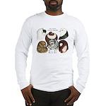 Six Pigeons Long Sleeve T-Shirt