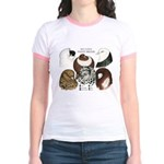 Six Pigeons Jr. Ringer T-Shirt