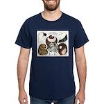 Six Pigeons Dark T-Shirt