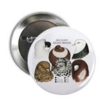 """Six Pigeons 2.25"""" Button (10 pack)"""