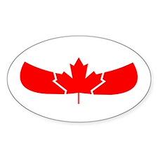 Canoe Canada Decal