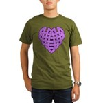 Hesta Heartknot Organic Men's T-Shirt (dark)