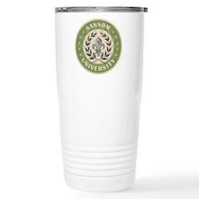 Sansom Last Name University Travel Mug