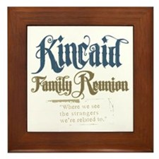 Kincaid Family Reunion Framed Tile