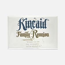Kincaid Family Reunion Rectangle Magnet