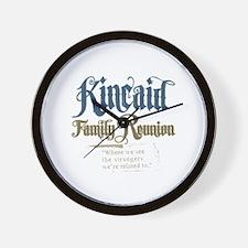 Kincaid Family Reunion Wall Clock