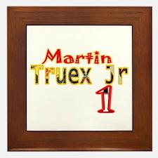Martin Truex Jr Framed Tile