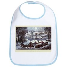 Central Park in Winter Bib