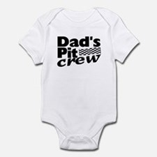 Dad's Pit Crew Infant Bodysuit