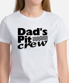 Dad's Pit Crew Women's T-Shirt