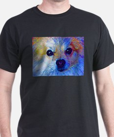 Pomeranian Black T-Shirt