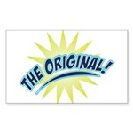 The Original Rectangle Sticker 10 pk)
