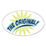 The Original Oval Sticker