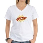 Brand New Women's V-Neck T-Shirt