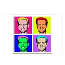 Gavin Newsom Pop Art Postcards (Package of 8)