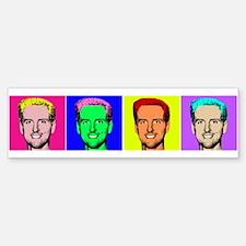Gavin Newsom Pop Art Bumper Bumper Bumper Sticker