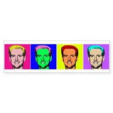 Gavin Newsom Pop Art Bumper Bumper Sticker
