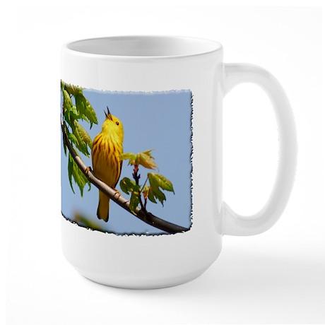 Yellow Warbler Large Mug