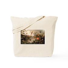 Cute Humming bird Tote Bag