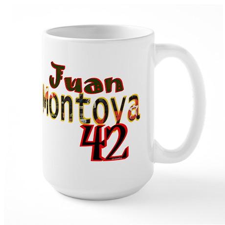 Juan Montoya Large Mug